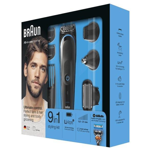 Braun All-in-one trimmer MGK5080 víceúčelový zastřihovač