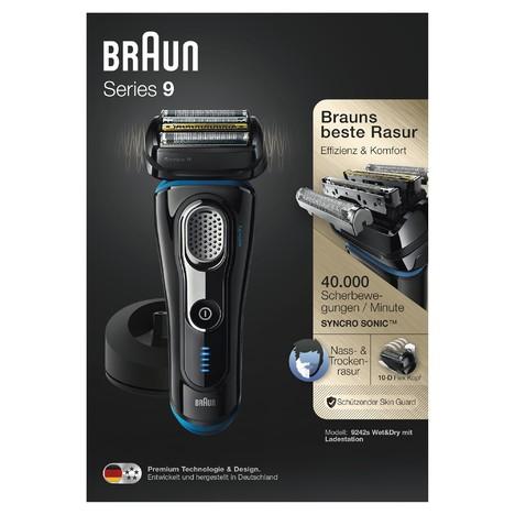 Braun Series 9 9242s Wet&Dry holicí strojek