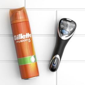 Gillette Gift Pack ProShield Chill + gel + pouzdro