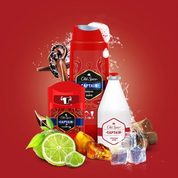 Old Spice Captain Grand Collection