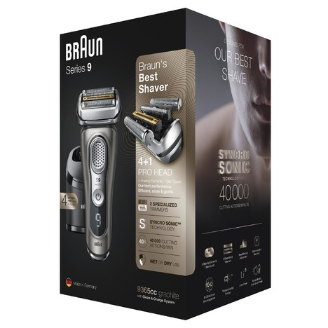 Braun Series 9 9365cc Wet&Dry holicí strojek