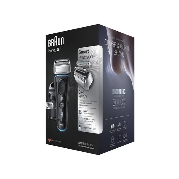Braun Series 8 8365cc Wet&Dry holicí strojek