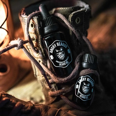 Angry Beards Oil Christopher the Traveller olej na vousy 30 ml