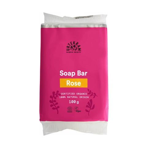 Urtekram Soap Bar Rose tuhé mýdlo 100 g
