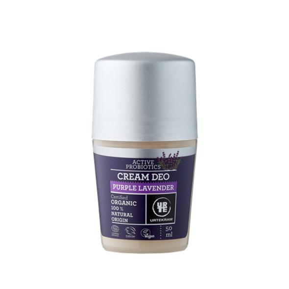 Urtekram Cream Deo Purple Lavender deodorant 50 ml