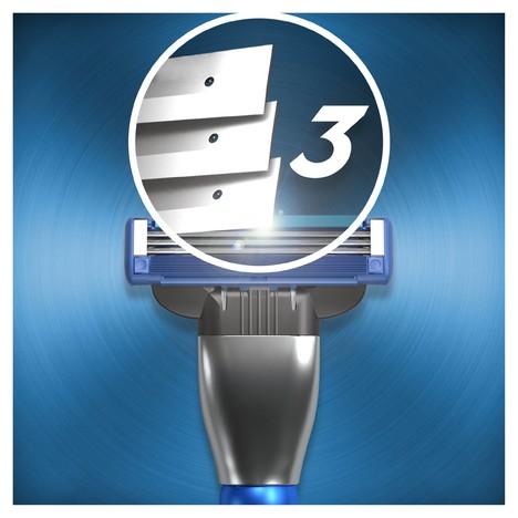 Gillette Mach3 Turbo 3D Motion holicí strojek + 4 ks hlavic