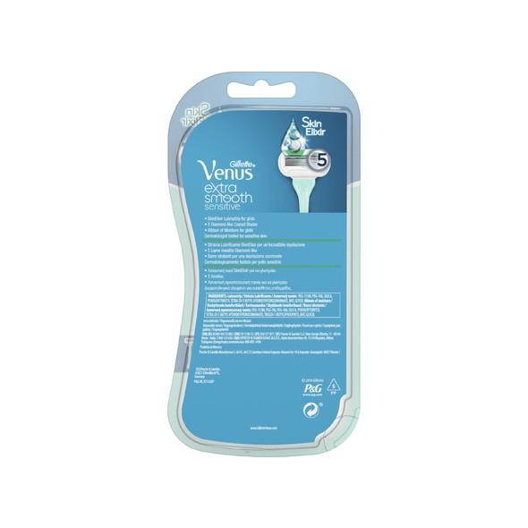 Gillette Venus Extra Smooth Sensitive jednorázová holítka 3 ks