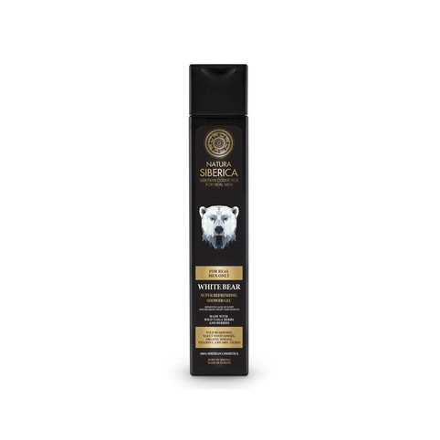Natura Siberica For Men White Bear sprchový gel 250 ml
