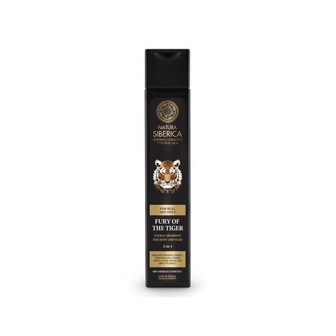 Natura Siberica For Men Fury Of The Tiger sprchový gel a šampon 250 ml