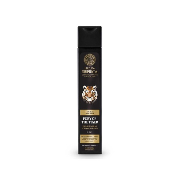 Natura Siberica For Men Fury Of The Tiger sprchový gel a šampon 250 ml