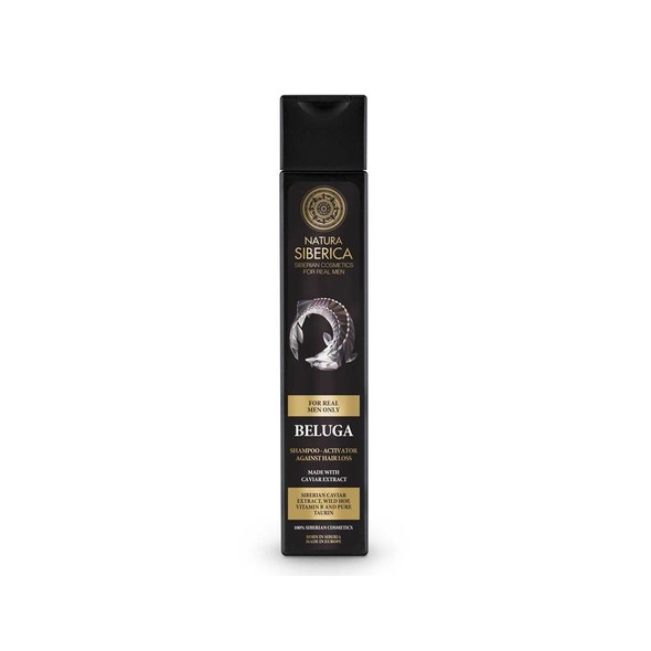 Natura Siberica For Men Shampoo Beluga šampon 250 ml