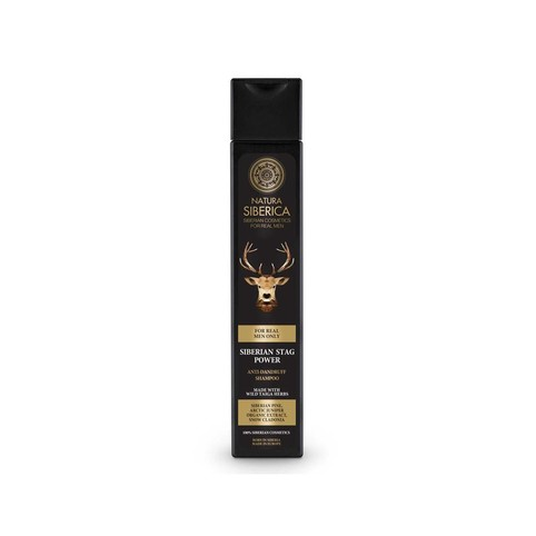 Natura Siberica For Men Siberian Stag Power šampon 250 ml