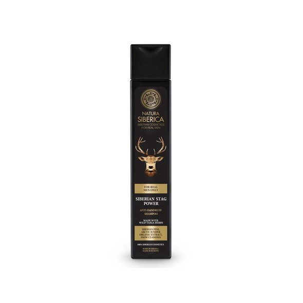Natura Siberica For Men Siberian Stag Power šampon 250 ml