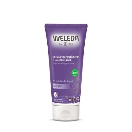 Weleda Body Wash Lavender sprchový krém 200 ml