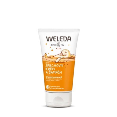 Weleda Kid Orange dětský sprchový krém a šampon 150 ml