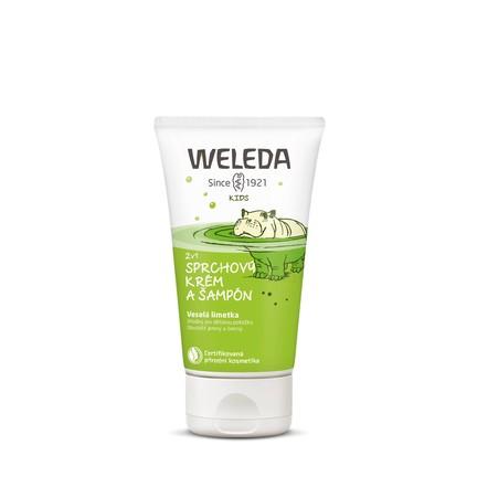 Weleda Kid Lime sprchový krém a šampon 150 ml