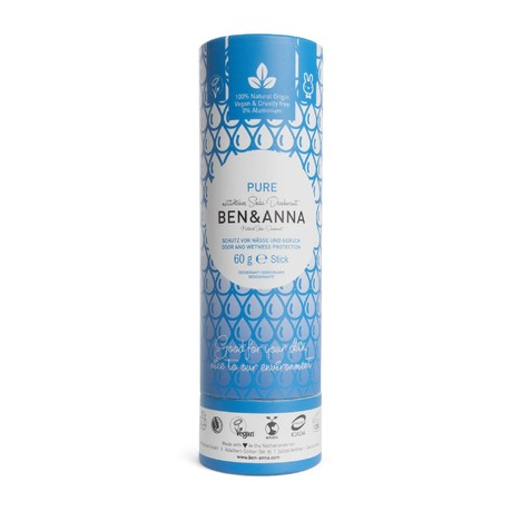 Ben&Anna Deodorant Pure tuhý deodorant 60 g