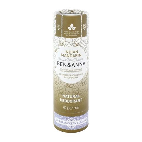 Ben & Anna Indian Mandarine tuhý deodorant 60 g