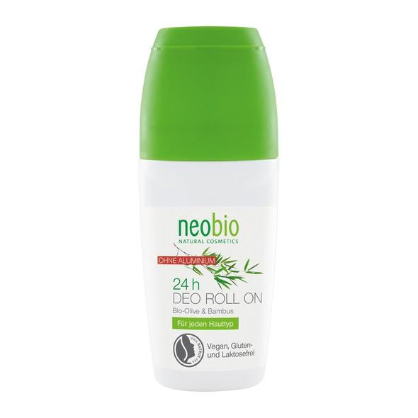 Neobio Olive & Bambus Roll-on deodorant 50 ml