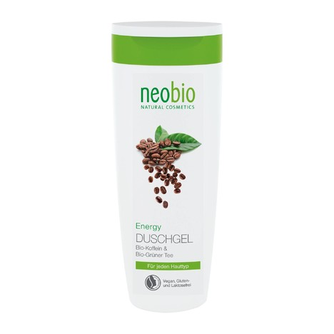 Neobio Shower Gel Energy sprchový gel 250 ml
