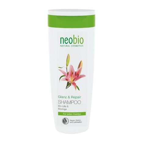 Neobio Shampoo Shine & Repair šampon na vlasy 250 ml