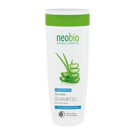 Neobio Shampoo Sensitive šampon na vlasy 250 ml