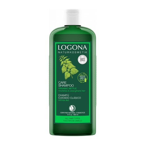 Logona Shampoo Kopřiva šampon na vlasy 500 ml