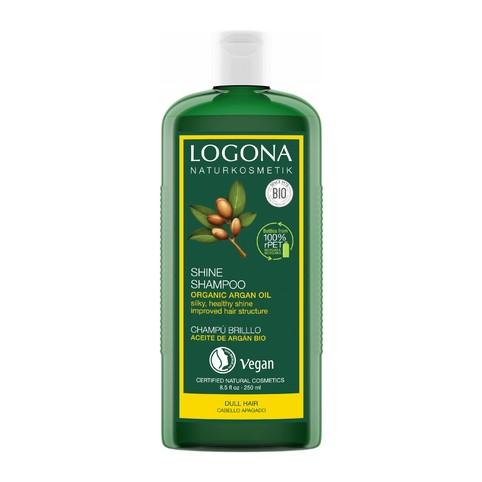 Logona Shine Argan šampon na vlasy 250 ml