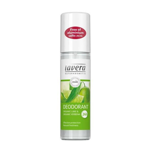 Lavera Spray Verbena & Lime deodorant 75 ml