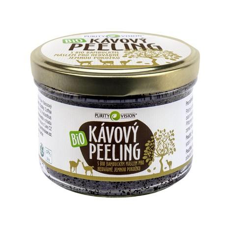 Purity Vision Coffee tělový peeling 175 g