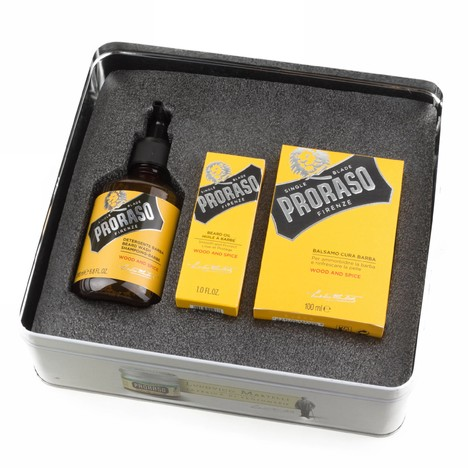 Proraso Gift Box Wood and Spice dárková sada péče o vousy