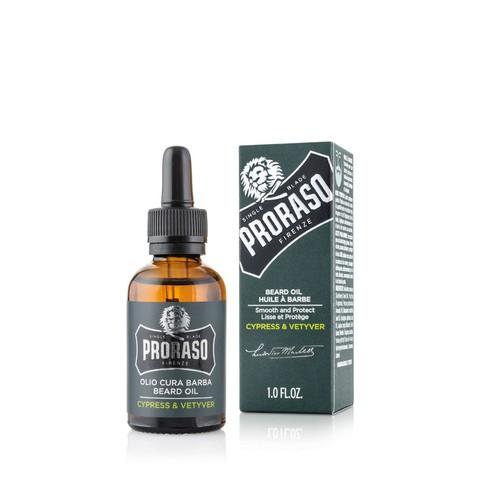 Proraso Cypress & Vetyver olej na vousy 30 ml