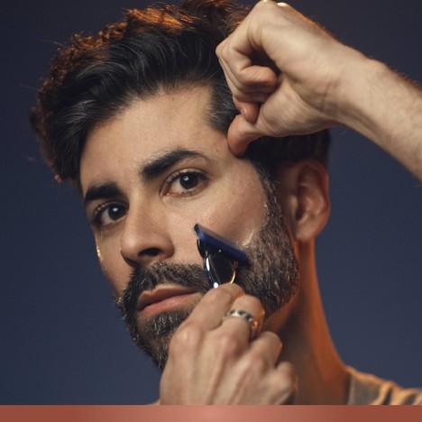 King C. Gillette Transparent gel na holení 150 ml