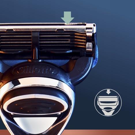 King C. Gillette Razor Blades náhradní hlavice 3 ks