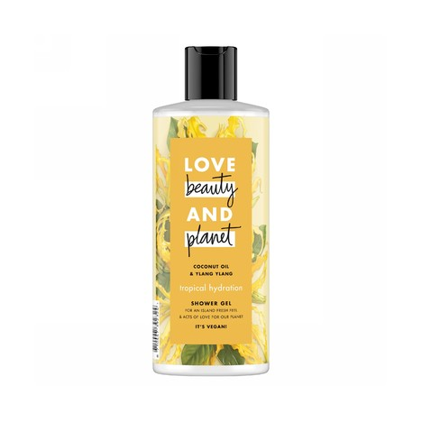Love Beauty & Planet Tropical Hydratation sprchový gel 500 ml