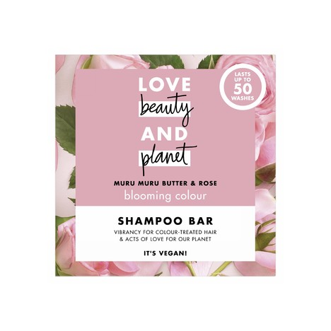 Love Beauty & Planet Murumuru+Rose tuhý šampon na vlasy 90 g
