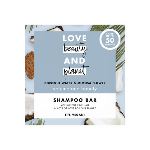 Love Beauty & Planet Coconut+Mimosa tuhý šampon na vlasy 90 g