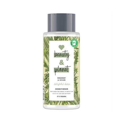 Love Beauty & Planet Daily Detox kondicionér na vlasy 400 ml