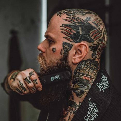 Angry Beards Beard Straightener žehlička na vousy