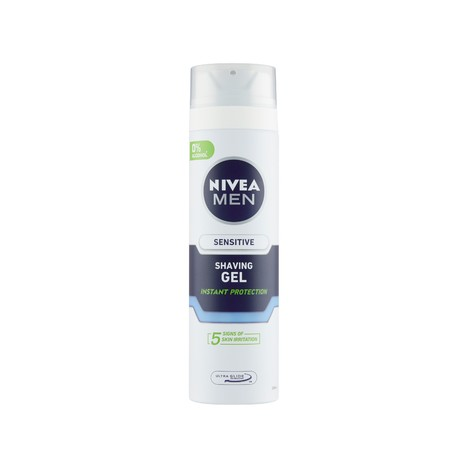 Nivea Men Sensitive gel na holení 200 ml