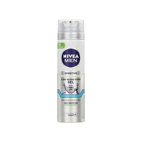 Nivea Men Sensitive 3-Day Beard gel na holení 200 ml