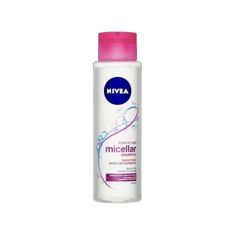 Nivea Fortifying Micellar šampon na vlasy 400 ml