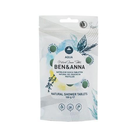 Ben&Anna Aqua sprchový gel v tabletách 24 ks