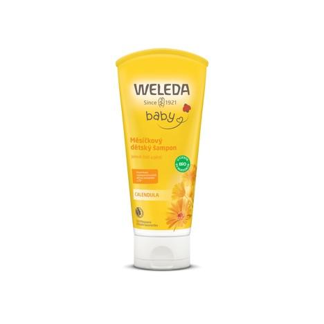 Weleda Baby Calendula dětský sprchový gel a šampon 200 ml