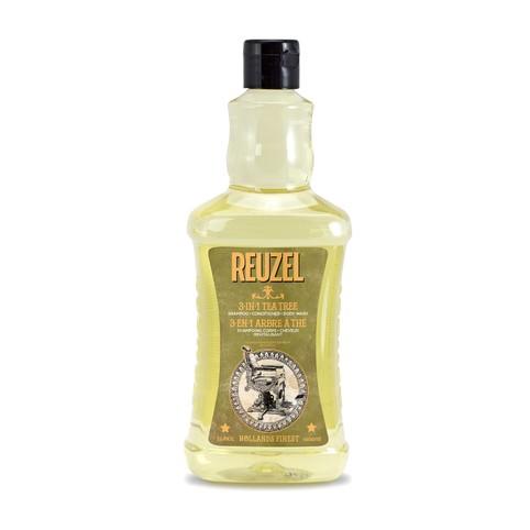 Reuzel 3in1 Tea Tree šampon 1000 ml