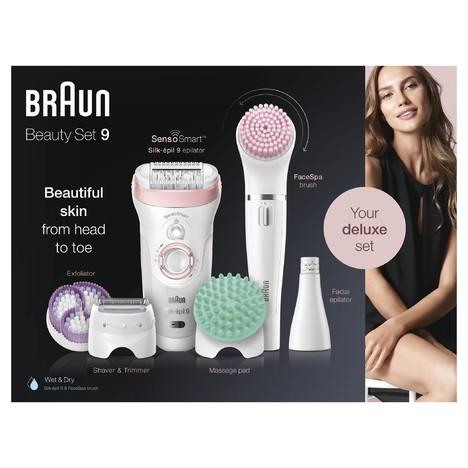 Braun Silk-épil 9-995 Beauty Set Wet&Dry epilátor