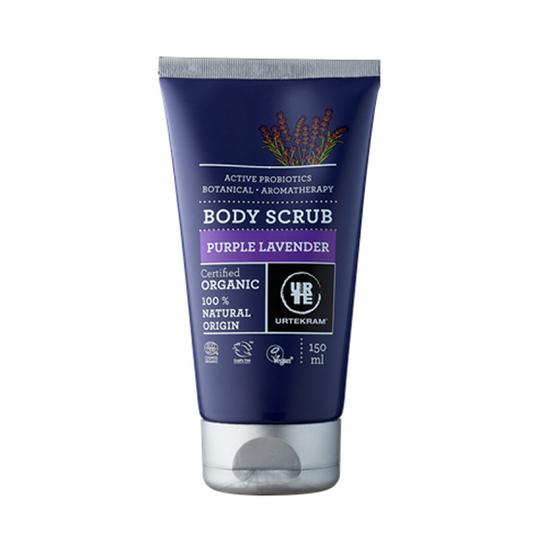 Urtekram Body Scrub Purple Lavender tělový peeling 150 ml