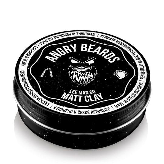 Angry Beards Clay Lee Man Go jíl na vlasy 120 g
