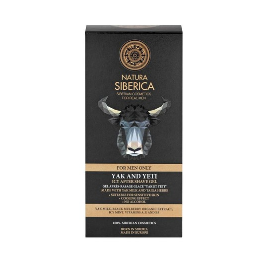 Natura Siberica For Men Yak And Yeti gel po holení 150 ml