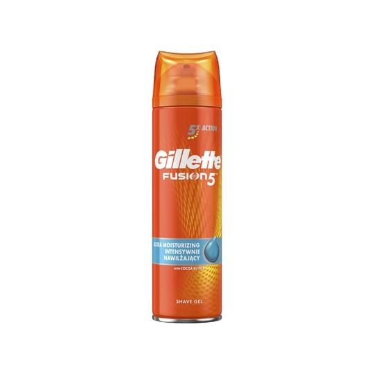 Gillette Fusion Ultra Moisturizing gel na holení 200 ml